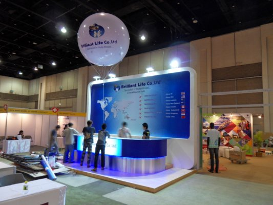Billian Life Booth@OCSC Expo