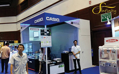 CASIO BOOTH @COMMART THAILAND COMTECH 2015