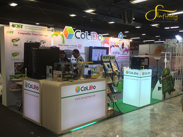 COLIDO BOOTH @ COMMART THAILAND SUMMER SALE