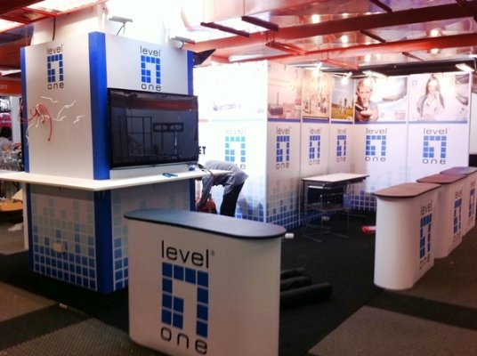 INTELLINET & LEVEL ONE BOOTH