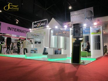 MAXXMA BOOTH @ ARCHITECT EXPO 2015