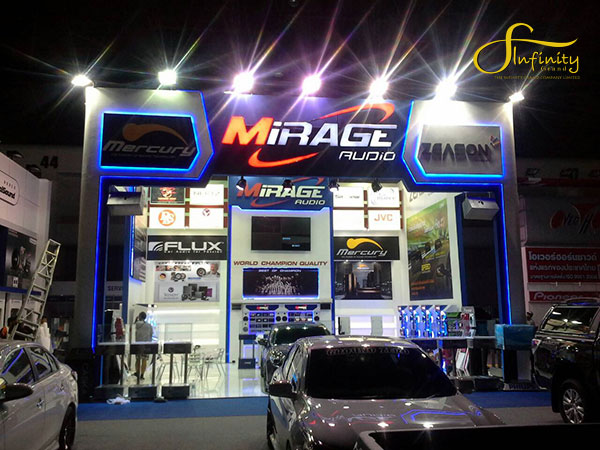 MIRAGE CAR AUDIO @MOTOR EXPO 2014