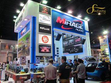 MIRAGE CAR AUDIO BOOTH @MOTOR SHOW 2015