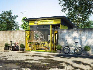 ออกแบบร้านบิงซู น้ำแข็งไส สไตล์เกาหลี