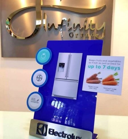 ELECTROLUX DEMO STAND DISPLAY