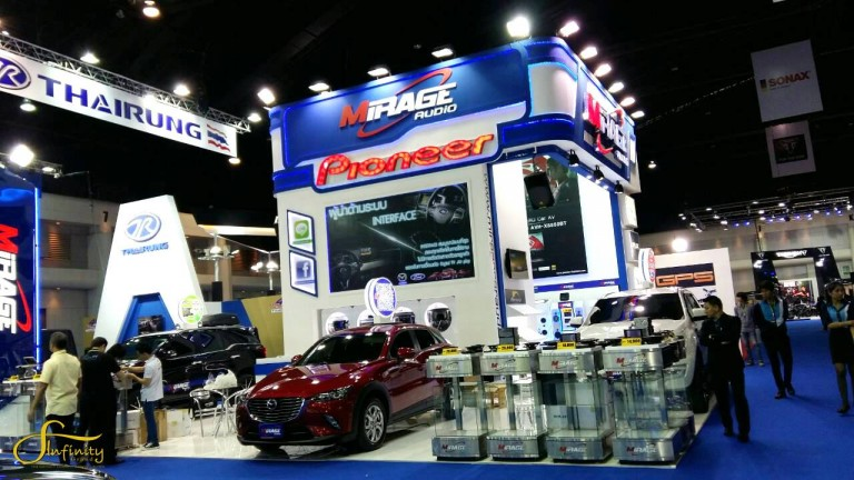 MIRAGE BOOTH @MOTOR SHOW 2016