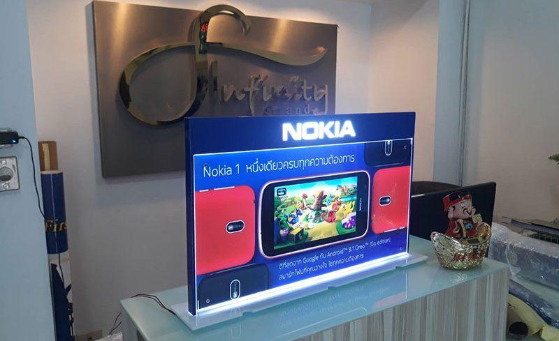 Nokia Lightbox Stand