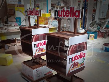 nutella shelf for Malasia & Taiwan