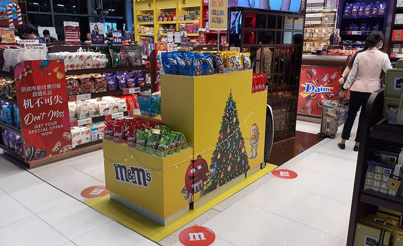 m&m HPP Christmas @DW4 Suwannabhumi