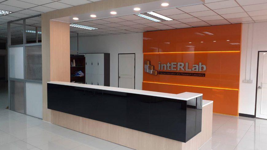intERLab Counter & Wall Backdrop