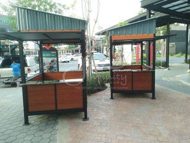 ซุ้มร้านค้าใน Porto Go บางปะอิน