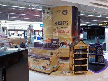 Hershey Shelf @Kingpower สนามบินดอนเมือง