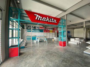 ออกแบบและตกแต่งร้าน Makita มหาทรัพย์ มีนบุรี