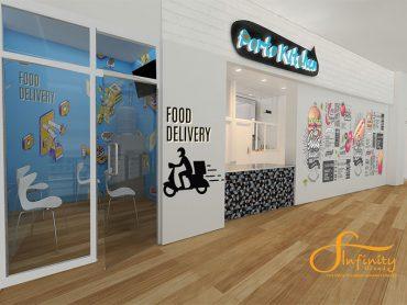 แบบ 3D ห้องครัว Porto Chino